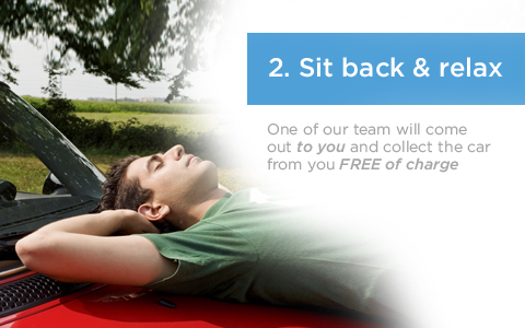 Sit back and relax while Midland Car removals comes out to collect your car